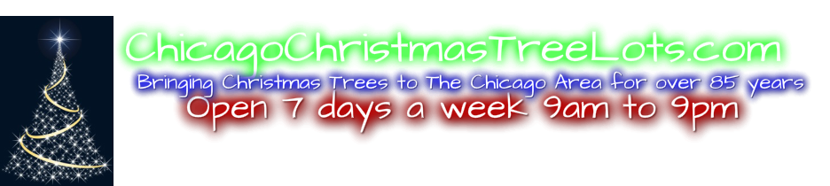 Chicago Christmas Tree Lots. Bringing you Christmas tree's for over 85 years!
